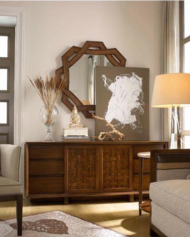 Drexel Heritage - Selat Woven Mirror - 590-402