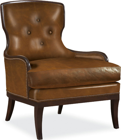 Drexel Heritage - Leather Chair of Enlightenment - L1838-CH