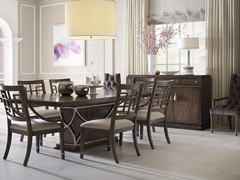 Drexel Heritage - Panneau Side Chair - 226-721