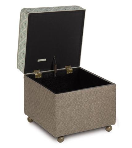 Eastern Accents - Arlo Ice Storage Boxed Ottoman - OTD-08