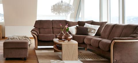 Ekornes - Stressless Eldorado High Back Sofa - 1215030