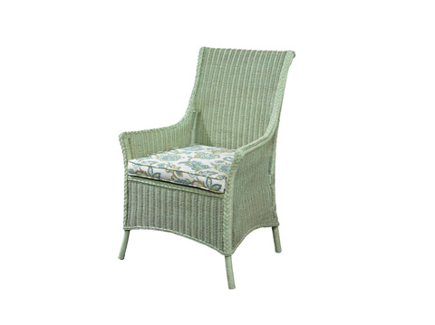 Fine Furniture Design Upholstery - Cottage Wicker Arm Chair - 3222-03