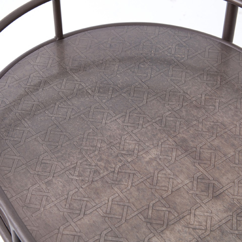 Four Hands - Teague Oval Bar Cart - IASR-005