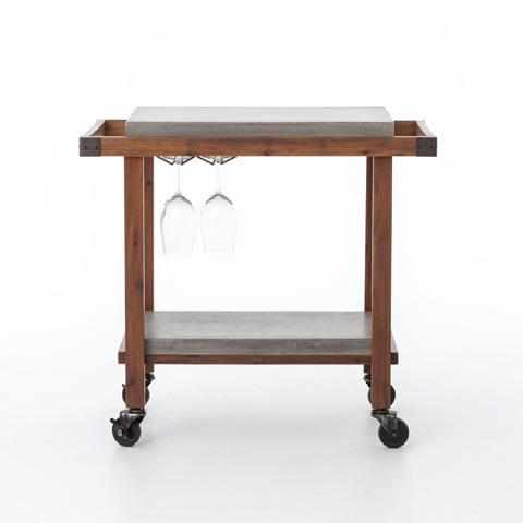 Four Hands - Knox Bar Cart - VEVR-005