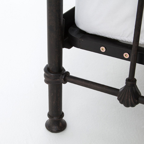 Four Hands - Kingsley Iron Twin Bed - CIMP-7CT