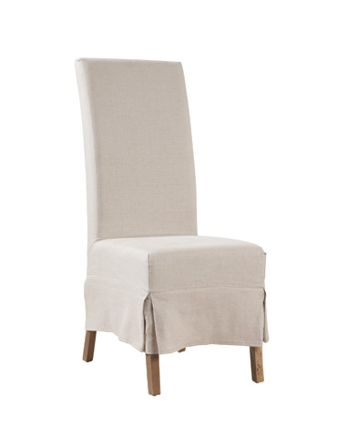 Image of Linen Parson's Chair