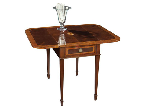 Hekman Furniture - Copley Place Pembroke Table - 2-2506