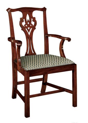 Henkel-Harris - Chippendale Arm Chair - 102A