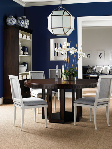 Hickory Chair - Arden Round Dining Table - 1641-10/1642-10
