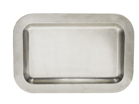Hickory Chair - Silver Tray with Handles - 5741-80