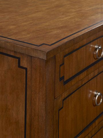 Hickory Chair - Artisan Curved Front Chest in Ash - 189-10