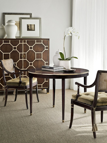 Hickory Chair - Boden Round Ash Dining Table - 2642-71