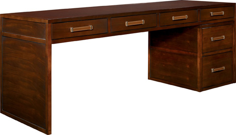 Hickory Chair - Harrison Four Drawer Writing Desk - 5394-70