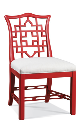 Image of Carved Back Side Chair