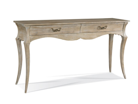 Image of Two Drawer Console Table
