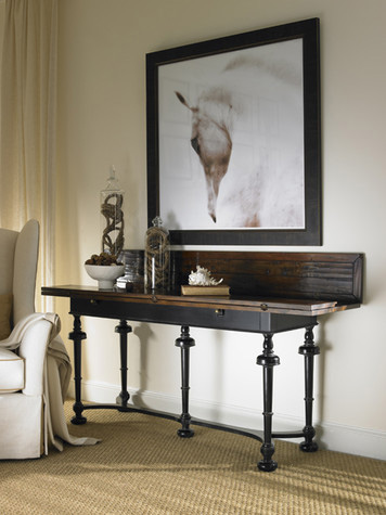 Hickory White - Flip Top Console - 860-31