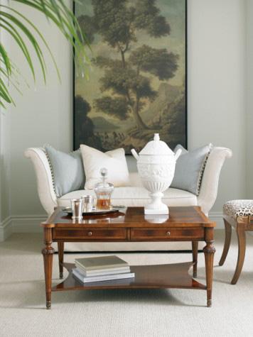 Hickory White - Rectangular Cocktail Table - 893-11