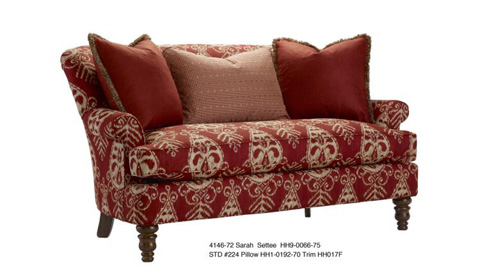 Highland House - New Leg Sarah Settee - 4146-72