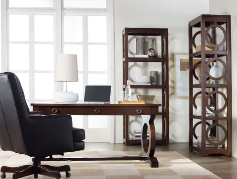 Image of Transitional Decorative Etagere
