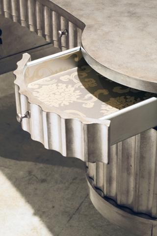 Hooker Furniture - Melange Fluted Kidney Desk - 638-10006