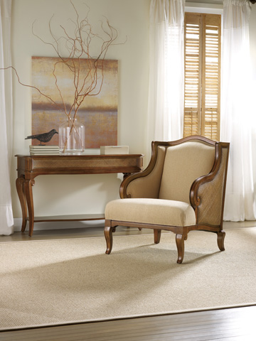 Hooker Furniture - Windward Dart Honey Club Chair - 1125-52011