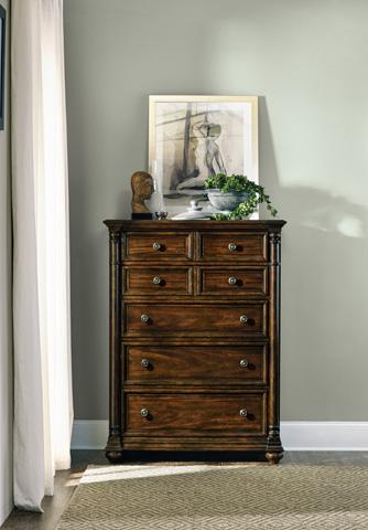 Hooker Furniture - Leesburg Five Drawer Chest - 5381-90010