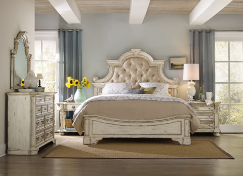Hooker Furniture - Sanctuary Brighton Queen Upholstered Bed - 5403-90850