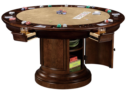 Howard Miller Clock Co. - Ithaca Pub and Game Table - 699-012