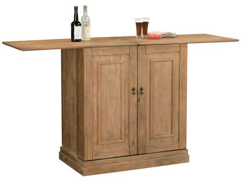 Howard Miller Clock Co. - Clare Valley Wine and Bar Cabinet - 695-156