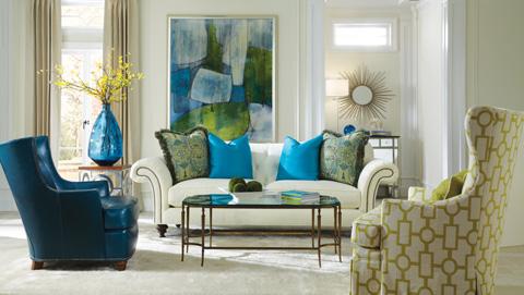 Huntington House - High Back Swivel Chair - 3392-56