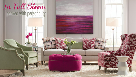 Huntington House - Three Cushion Sofa - 7216-20