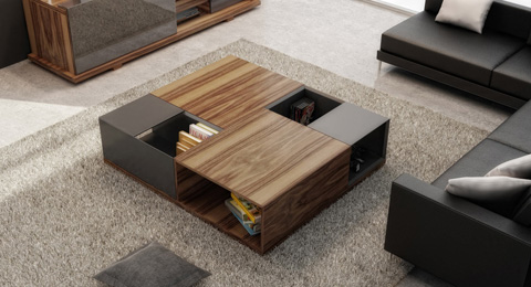 Huppe - Square Coffee Table - 009971