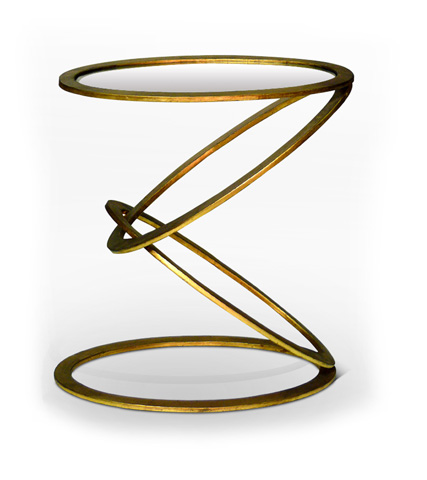 Interlude Home - Mobius End Table - 125030