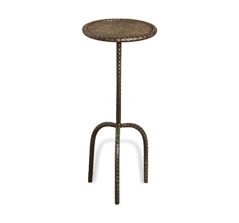 Interlude Home - Sultan Round Drink Table - 128025