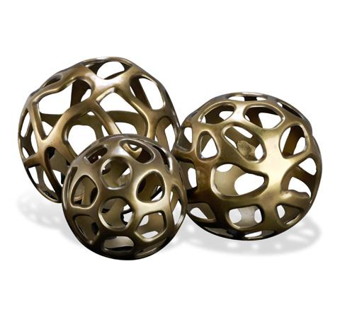 Interlude Home - Eva Sculptural Spheres - 875070