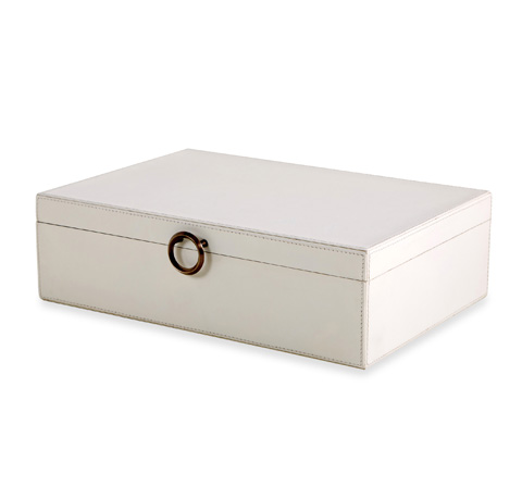 Interlude Home - Zola Leather Box - 935040