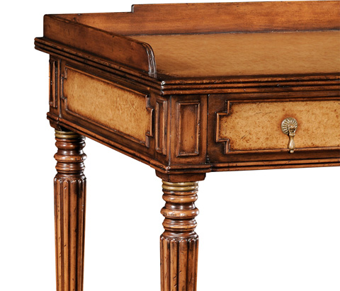 Jonathan Charles - Leather Inset Dressing Table - 492006