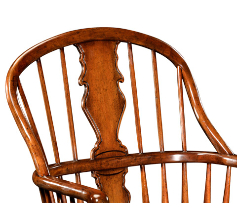 Jonathan Charles - Windsor Arm Chair with Splat Back - 492641