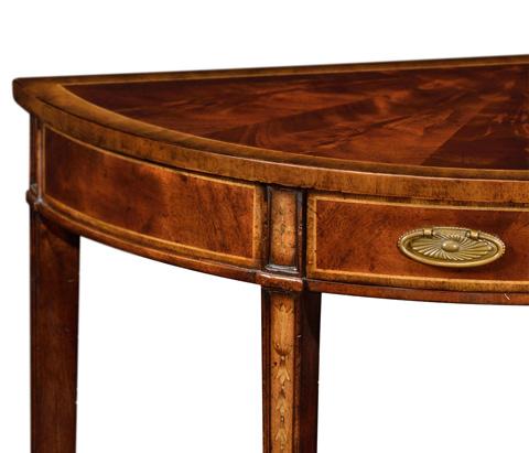 Jonathan Charles - George II Style Mahogany Console - 492757