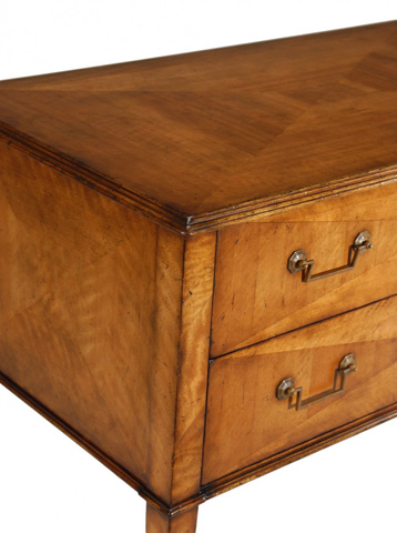 Jonathan Charles - Rectangular Satinwood Chest of Two Drawers - 492800