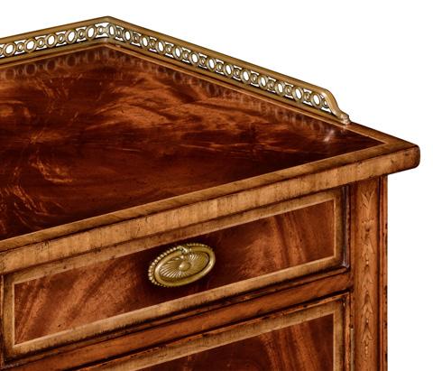 Jonathan Charles - Pair of Mahogany Bedside Cabinets - 492822