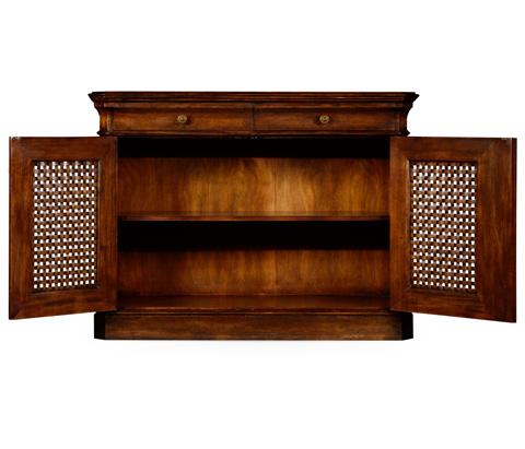 Jonathan Charles - Side Cabinet with Latticework Doors - 493848