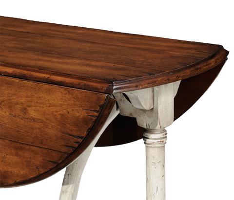 Jonathan Charles - Rub-Through Drop-Leaf Table - 493866