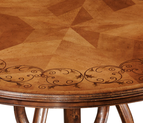 Jonathan Charles - Inlaid Country Centre Table - 493877