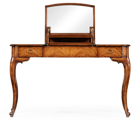 Jonathan Charles - Dressing Table with Hinged Mirror - 494021
