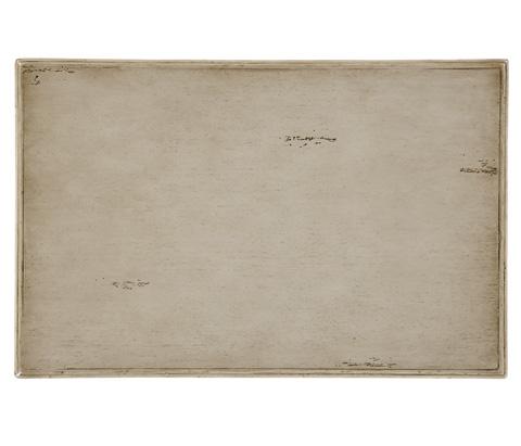 Jonathan Charles - Three-Tier Grey Rub-Through Etagere - 494131