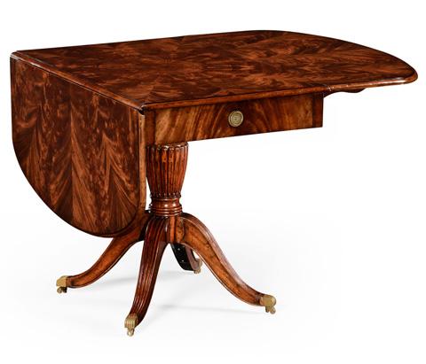 Jonathan Charles - Mahogany Pembroke Sofa Table - 494641