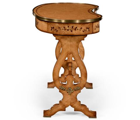 Jonathan Charles - Satinwood Kidney Dressing Table - 494652