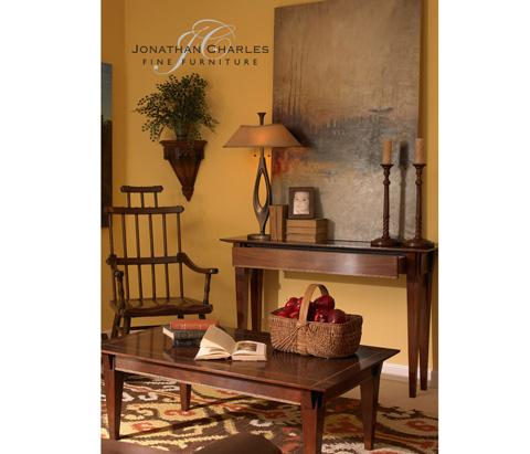 Jonathan Charles - Craftsman's Mahogany Coffee Table - 494793