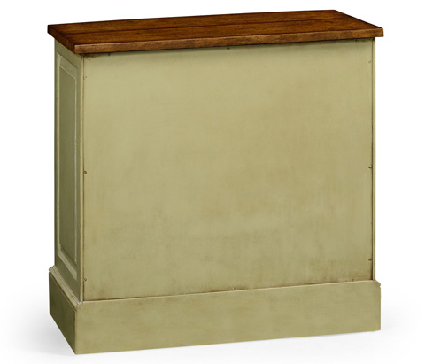 Jonathan Charles - Gustavian Style Bow Fronted Chest - 494911